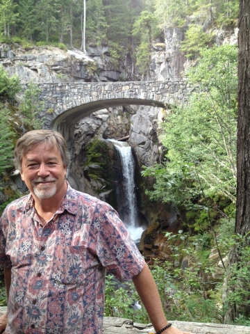 Gil, Waterfall, Mt Ranier